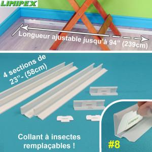 pi ges murailles de protection contre les punaises de lit. Black Bedroom Furniture Sets. Home Design Ideas